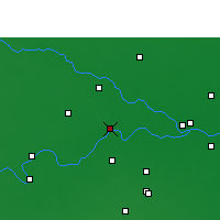 Nearby Forecast Locations - Ballia - Map