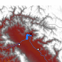 Nearby Forecast Locations - Bandipora - Map