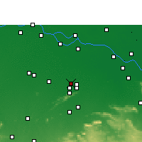Nearby Forecast Locations - Barbigha - Map