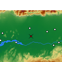 Nearby Forecast Locations - Barpeta - Map