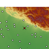 Nearby Forecast Locations - Bajpur - Map