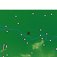 Nearby Forecast Locations - Begusarai - Map