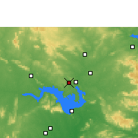 Nearby Forecast Locations - Belpahar - Map