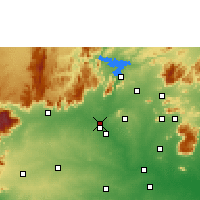 Nearby Forecast Locations - Bhavani - Map