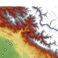 Nearby Forecast Locations - Chamba - Map