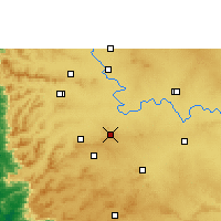 Nearby Forecast Locations - Chikodi - Map