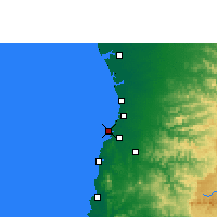 Nearby Forecast Locations - Daman and Diu - Map