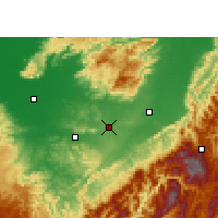 Nearby Forecast Locations - Diphu - Map