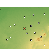 Nearby Forecast Locations - Fatehpur - Map