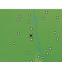 Nearby Forecast Locations - Ganaur - Map