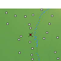 Nearby Forecast Locations - Gharaunda - Map