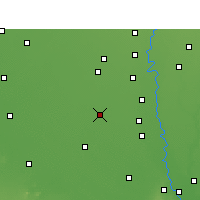 Nearby Forecast Locations - Gohana - Map