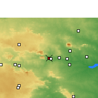 Nearby Forecast Locations - Gomia - Map