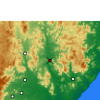 Nearby Forecast Locations - Gunupur - Map