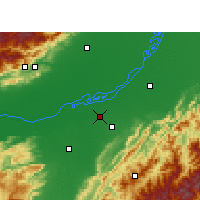 Nearby Forecast Locations - Jorhat - Map