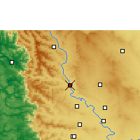 Nearby Forecast Locations - Karad - Map