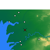 Nearby Forecast Locations - Karjan - Map