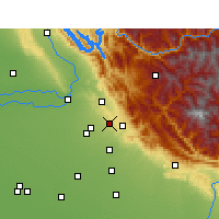 Nearby Forecast Locations - Karoran - Map