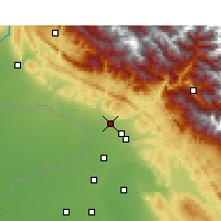 Nearby Forecast Locations - Kathua - Map