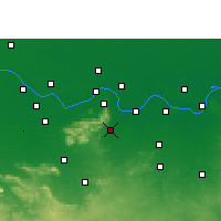 Nearby Forecast Locations - Kharagpur - Map