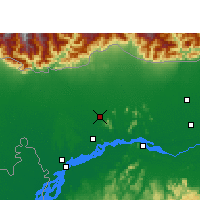 Nearby Forecast Locations - Kokrajhar - Map