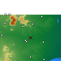 Nearby Forecast Locations - Lalgudi - Map