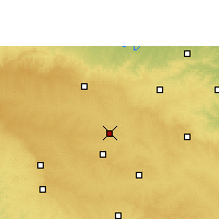 Nearby Forecast Locations - Latur - Map
