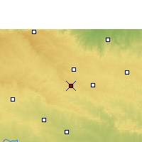 Nearby Forecast Locations - Lonar - Map