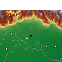 Nearby Forecast Locations - Mainaguri - Map
