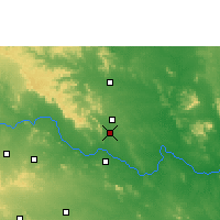 Nearby Forecast Locations - Mandamarri - Map