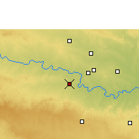 Nearby Forecast Locations - Manjlegaon - Map