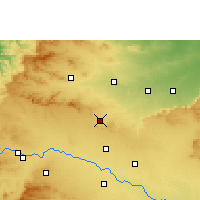 Nearby Forecast Locations - Manmad - Map