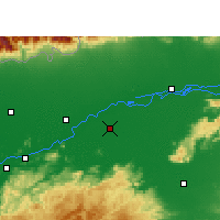 Nearby Forecast Locations - Morigaon - Map
