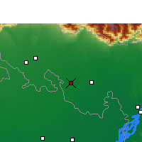 Nearby Forecast Locations - Mathabhanga - Map