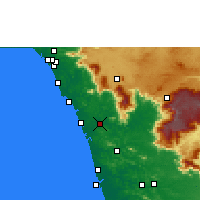 Nearby Forecast Locations - Mavoor - Map