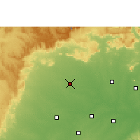 Nearby Forecast Locations - Mungeli - Map