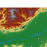 Nearby Forecast Locations - Naharlagun - Map