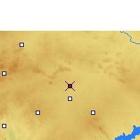 Nearby Forecast Locations - Nargund - Map
