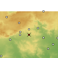 Nearby Forecast Locations - Narkhed - Map