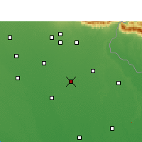 Nearby Forecast Locations - Nawabganj - Map