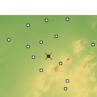Nearby Forecast Locations - Nawalgarh - Map