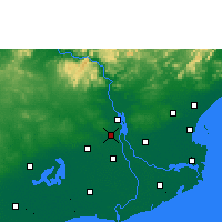 Nearby Forecast Locations - Nidadavole - Map