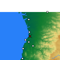 Nearby Forecast Locations - Pardi - Map