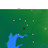 Nearby Forecast Locations - Petlad - Map