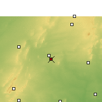 Nearby Forecast Locations - Phulera - Map