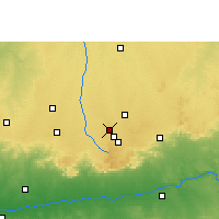 Nearby Forecast Locations - Pithampur - Map