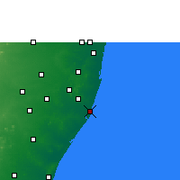 Nearby Forecast Locations - Pudupattinam - Map