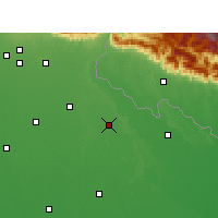 Nearby Forecast Locations - Puranpur - Map
