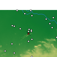 Nearby Forecast Locations - Rajgir - Map