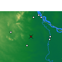 Nearby Forecast Locations - Rampurhat - Map